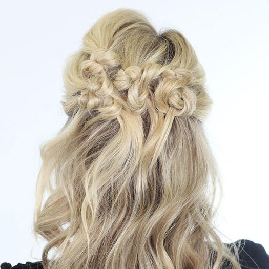 Formal Half Up Hairstyle