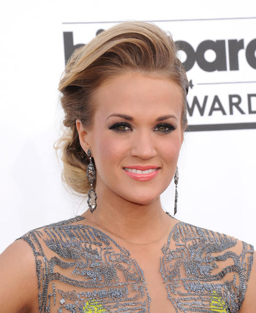 15 carrie underwood hairstyles that blow us away more retro updo underwood pmusecretfo Image collections