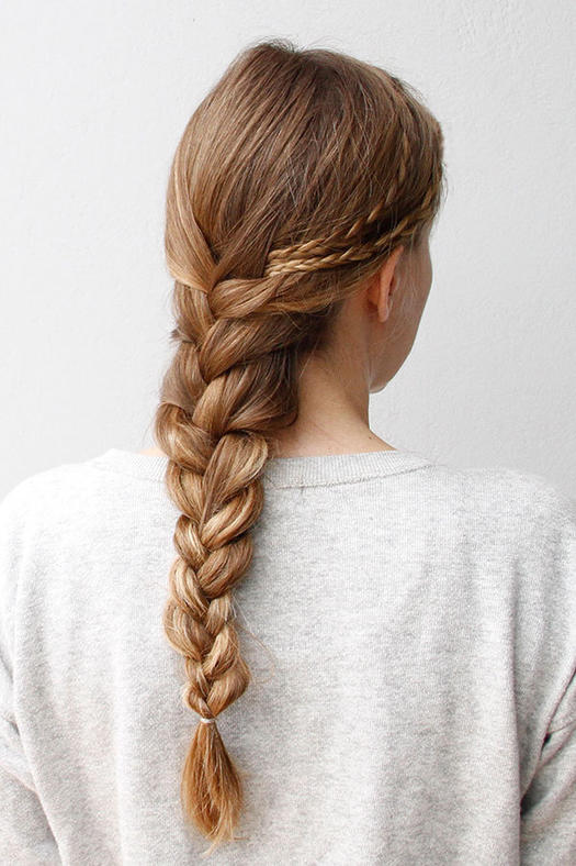 Awesome Easy Hairstyles French Braids Best Hairstyles 2017 Hairstyles For Women Draintrainus