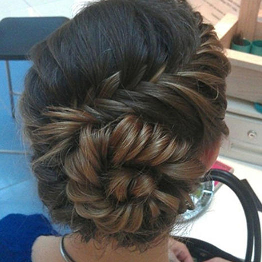 40 updo hairstyles for this prom season more conch shell braid updo pmusecretfo Image collections