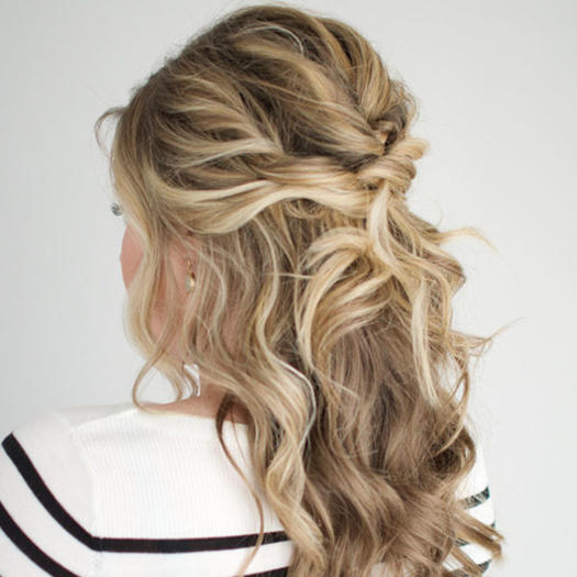 Hair Styles For Layered Hair Our Favorite Prom Hairstyles For Mediumlength Hair  More