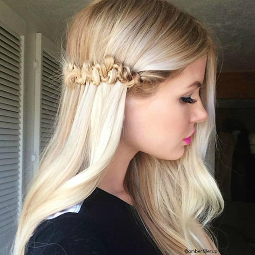 30 best prom hairstyles for short hair more snake braid urmus Choice Image