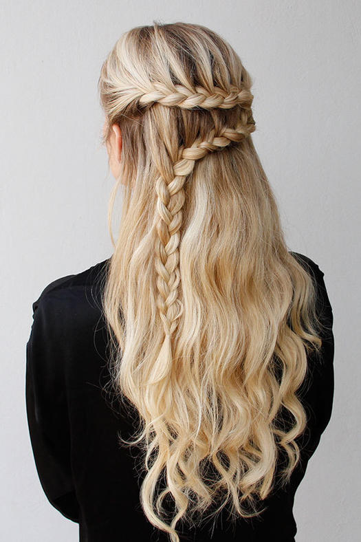 Our best braided hairstyles for long hair more braids for long hair urmus Gallery