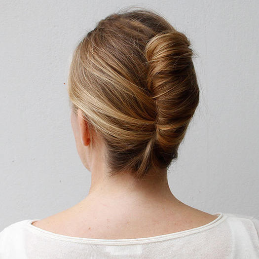 Classic French Twist Updo - 22 Homecoming Hairstyles Fit For A Queen More.com