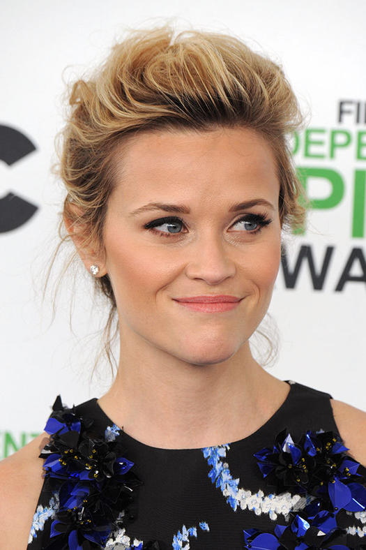 16 must mimic reese witherspoon hairstyles more romantic updo pmusecretfo Gallery