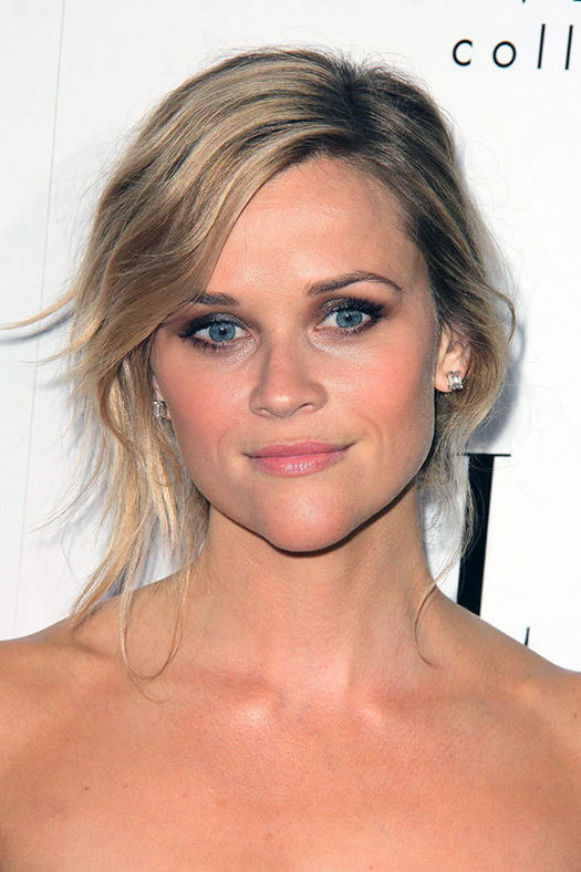 16 must mimic reese witherspoon hairstyles more wispy updo pmusecretfo Gallery
