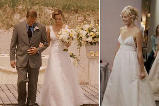 27 Awesome Simple Wedding Dresses For Cute Brides: 23 Movie Wedding Dresses That Stun Onscreen