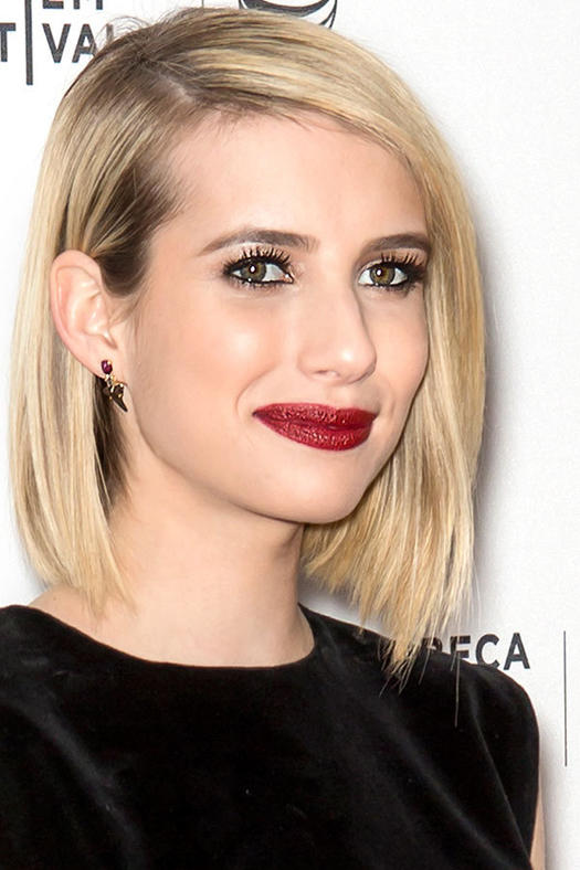 Medium Length Haircuts For Oval Faces : 20 flattering hairstyles for oval faces more.com