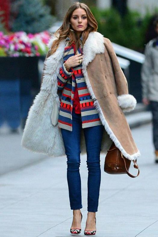 Winter Fashion: Rock Shearling Like a Fashion Blogger ...