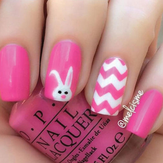 Easter Bunny Nails: 27 Of The Best Nail Art Designs For Any Animal Lover