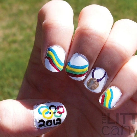 11 Olympics-Inspired Nail Art Designs to Get you Geared Up for Rio