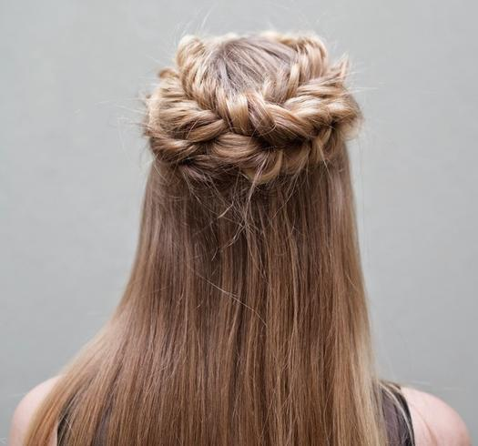 10 Pretty Half Up Half Down Wedding Hairstyles More Com