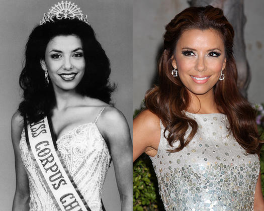 Eva Longoria Beauty Queen - 23 Celebs Who Started Out as Pageant Queens