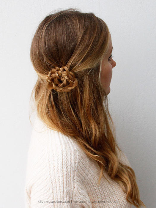 Hairstyles For Prom With Flowers : Fun fierce and flirty prom hairstyles more