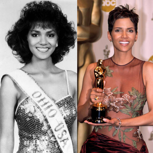 Halle Berry Pageant Queen - 23 Celebs Who Started Out as Pageant Queens