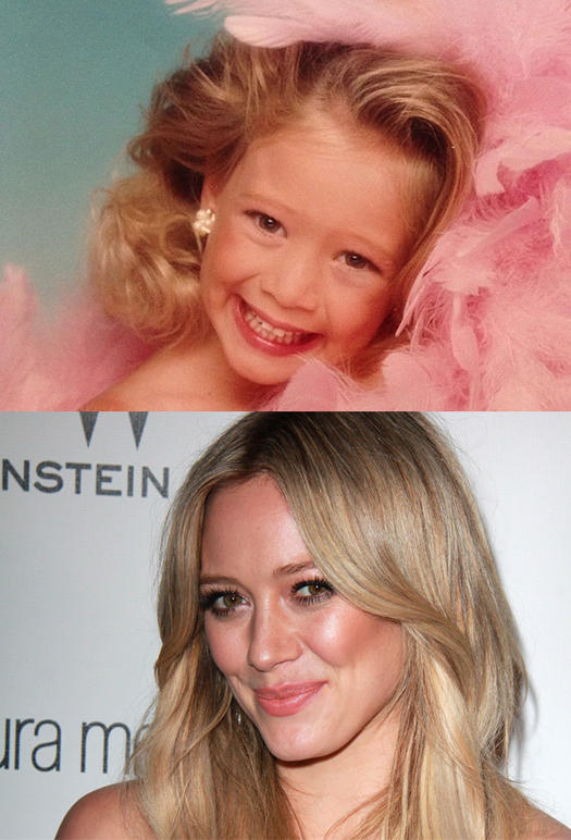 Hilary Duff Pageant Kid - 23 Celebs Who Started Out as Pageant Queens