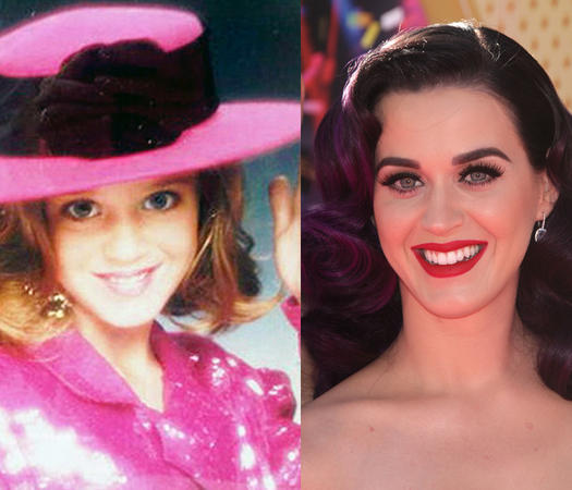 Katy Perry Pageant Kid - 23 Celebs Who Started Out as Pageant Queens