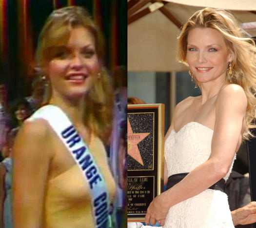 Michelle Pfeiffer Beauty Pageant - 23 Celebs Who Started Out as Pageant Queens