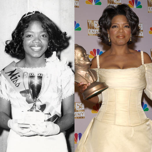 Oprah Winfrey Beauty Pageant - 23 Celebs Who Started Out as Pageant Queens