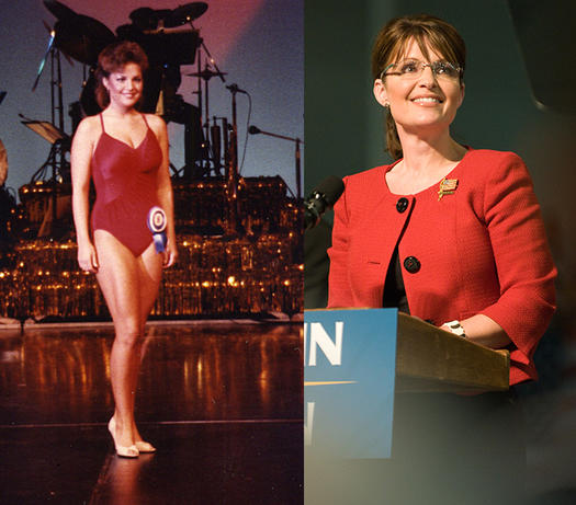 Sarah Palin Beauty Pageant - 23 Celebs Who Started Out as Pageant Queens