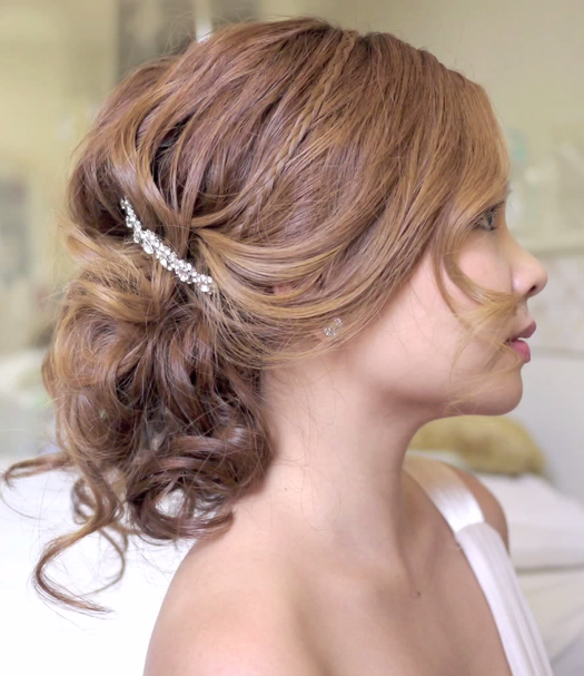 Do It Yourself Wedding Hairstyles: Beautiful Beach Wedding Hairstyles You Can Do Yourself
