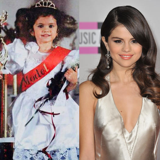 Selena Gomez Pageant Kid 4 - 23 Celebs Who Started Out as Pageant Queens