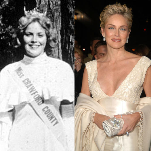 Sharon Stone Pageant Contestant - 23 Celebs Who Started Out as Pageant Queens