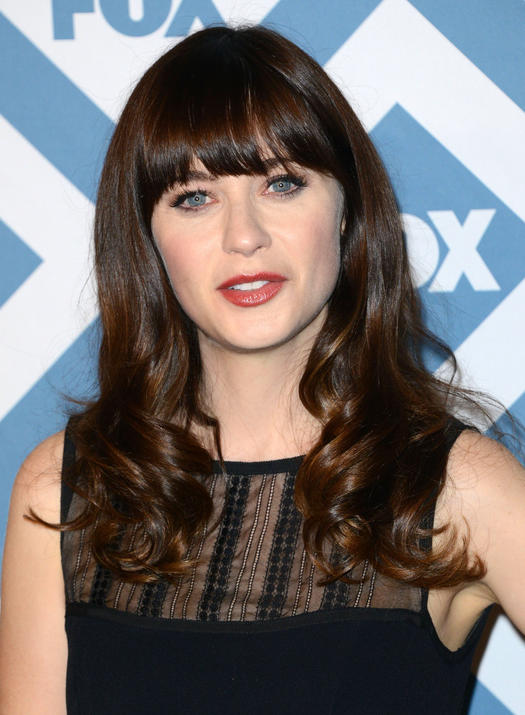 Zooey Deschanel Forehead A Guide to the Best Ha...