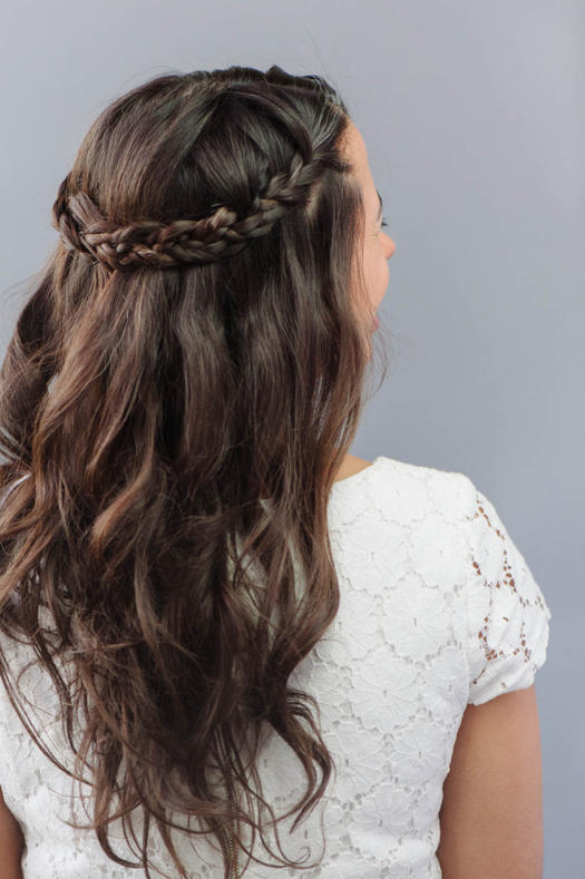 Tremendous 9 Beautiful Bridesmaid Hairstyles More Com Hairstyle Inspiration Daily Dogsangcom