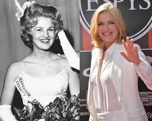 diane sawyer beauty queen - 23 Celebs Who Started Out as Pageant Queens