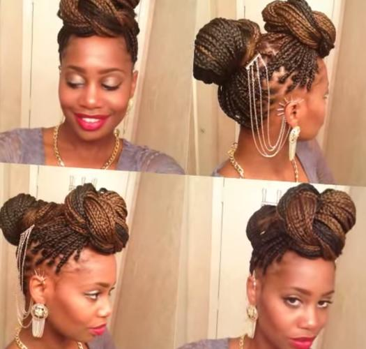 Outstanding 15 Box Braids Hairstyles That Rock More Com Hairstyles For Women Draintrainus