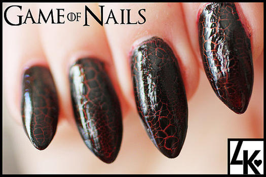Dragon Nail Art - 12 Game Of Thrones Nail Looks To Rock For The Season 4 Premiere