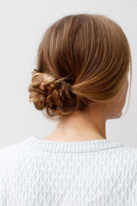 Homecoming Hairstyles easy braided side bun homecoming hairstyles cute girls hairstyles youtube Easy Braided Hairstyle
