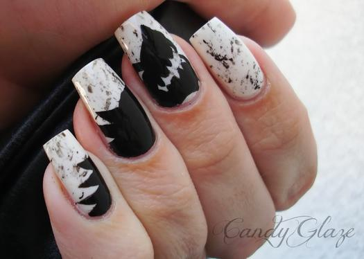 12 game of thrones nail looks to rock for the season 4 premiere direwolf digits prinsesfo Choice Image