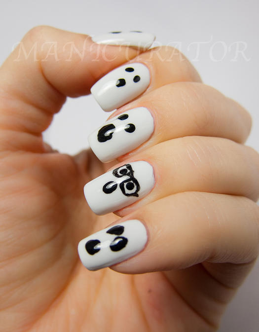 Ghost Nails - Easy Halloween Nail Designs For Beginners More.com