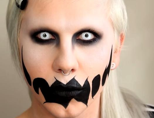 13 Scary Halloween Makeup Looks That Give Us Nightmares | more.com