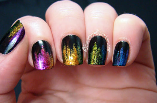 easy nail designs - 17 Simple Nail Designs Even A Nail Newbie Can Do More.com