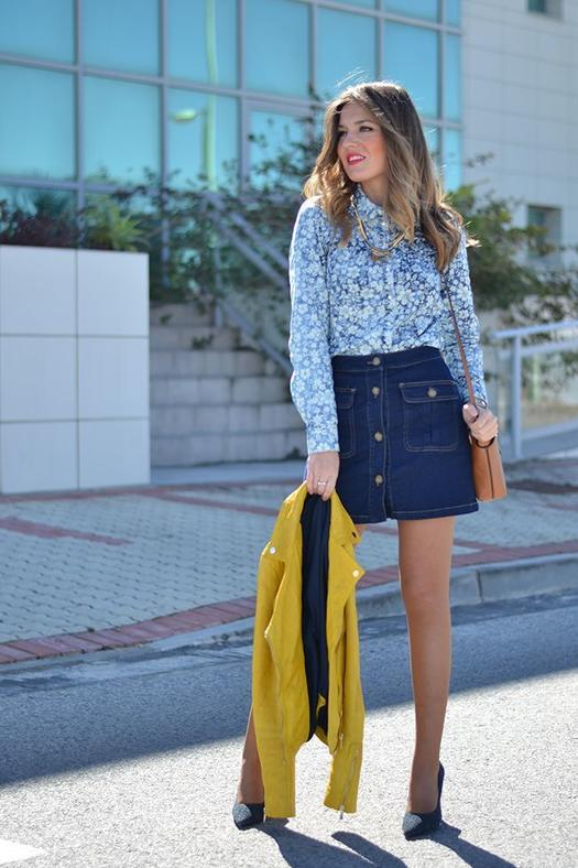 Are Jean Skirts In Style | Jill Dress