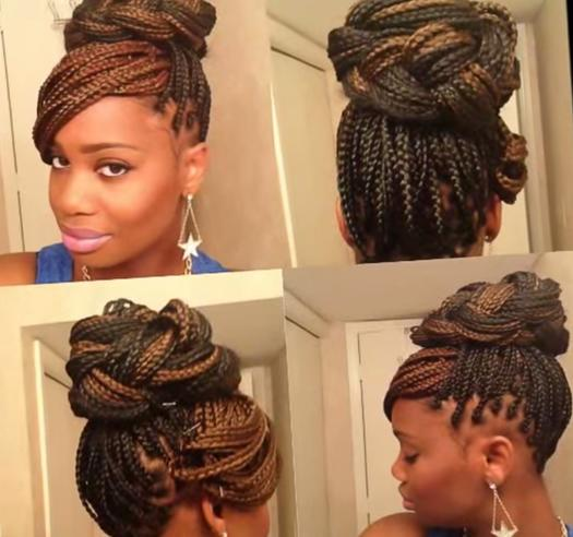 Prime 15 Box Braids Hairstyles That Rock More Com Short Hairstyles For Black Women Fulllsitofus