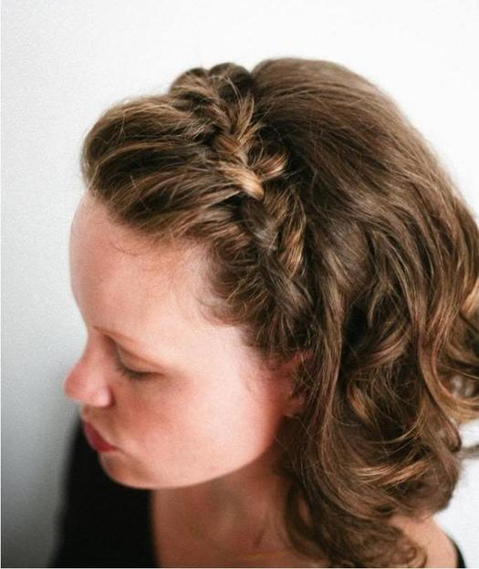 Beautiful Braids For Short Hair Morecom - Braided hairstyles for short hair step by step