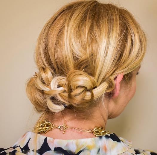 Brilliant 9 Beautiful Bridesmaid Hairstyles More Com Hairstyle Inspiration Daily Dogsangcom