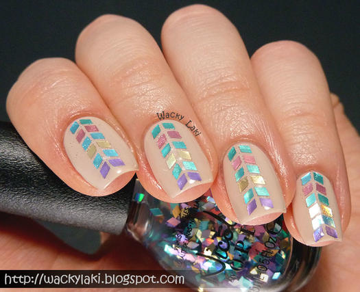 17 simple nail designs even a nail newbie can do more simple nail designs prinsesfo Image collections