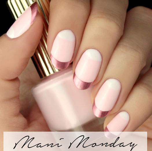 Amazing matte and chrome nail art looks you have to try right now its all pink to me prinsesfo Choice Image