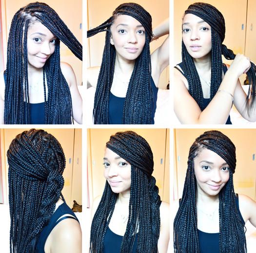 Stupendous 15 Box Braids Hairstyles That Rock More Com Hairstyles For Women Draintrainus
