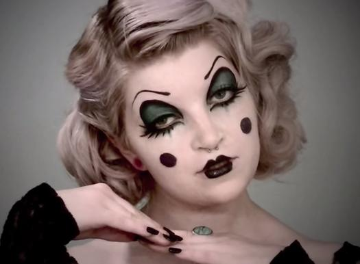 Beautiful Clown Makeup