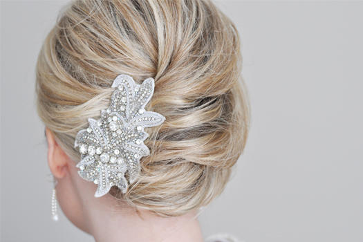 Stunning Wedding Hairstyles for Medium-Length Hair | more.com