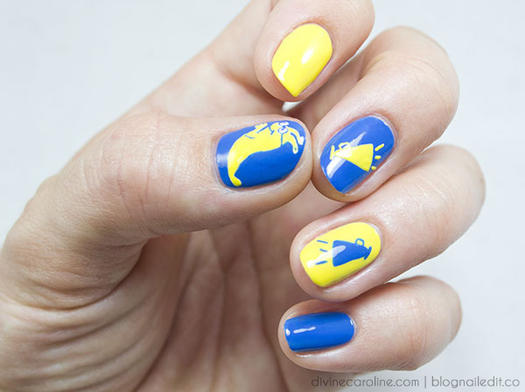 School Spirit Nails - School-Theme Nail Designs That Make Us Want To Hit The Books