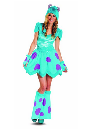 sassy sulley - Womens Halloween Costumes Not Skanky