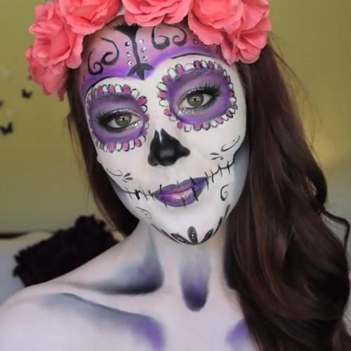 Die Sugar Skull Makeup Looks Win Halloween