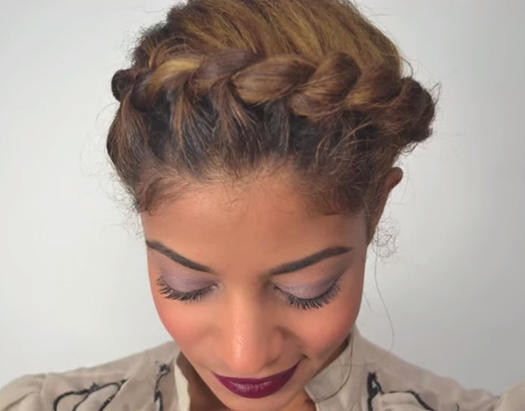 Brilliant Stunning Wedding Hairstyles For Black Women More Com Hairstyle Inspiration Daily Dogsangcom